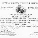 1936 Training School Certificate
