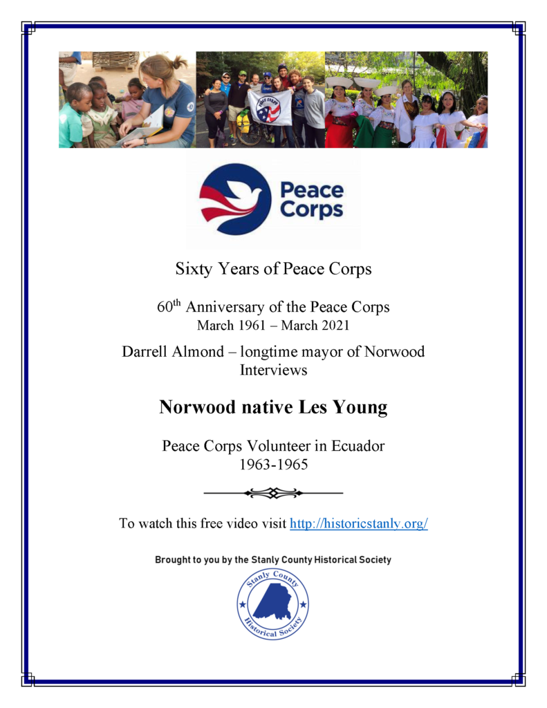 Sixty Years of Peace Corps – A Historical Society Video Interview
