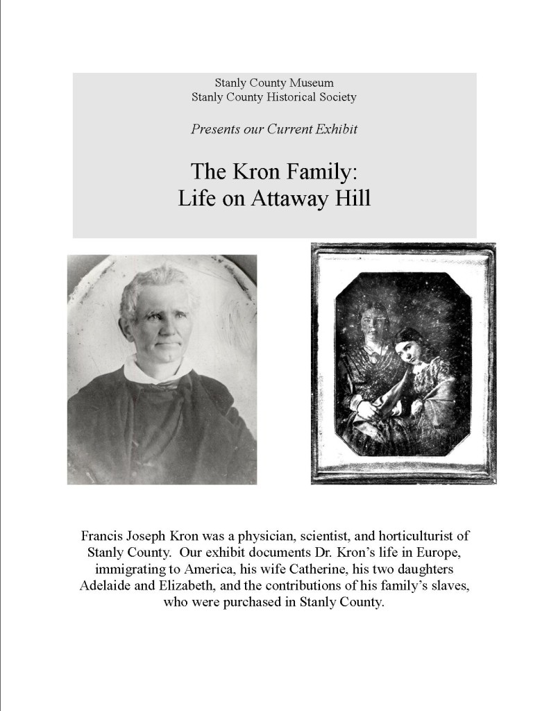 The Kron Family: Life on Attaway Hill Exhibit Extended