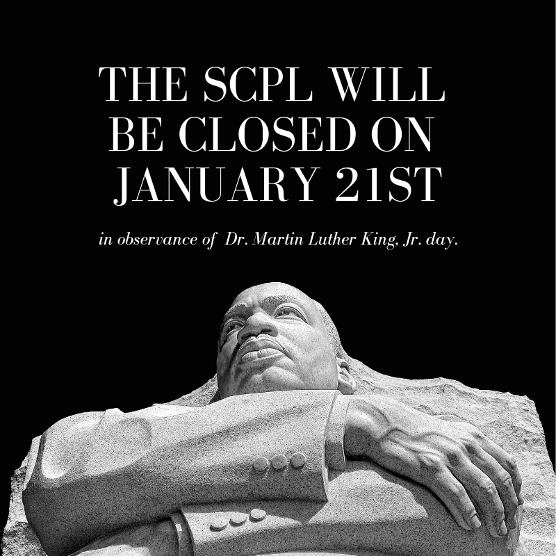 Closure for Martin Luther King Jr. Day