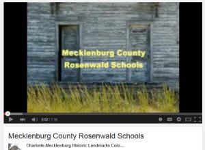 Mecklenburg County Rosenwald Schools