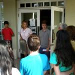 Students from Park Ridge Christian School visit Museum