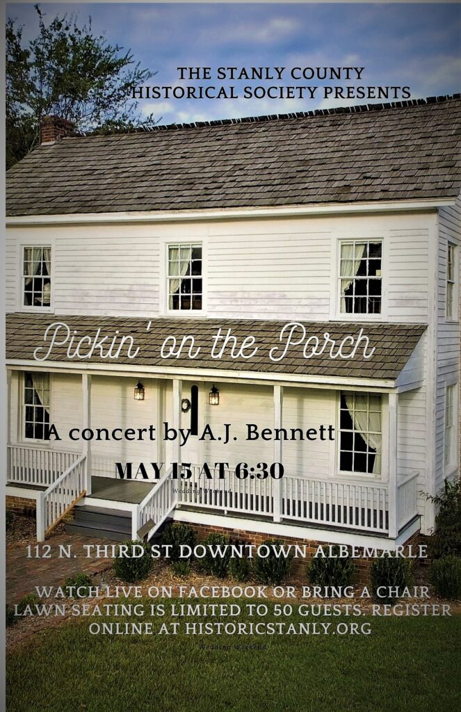 Pickin' on the Porch – A Historical Society Program