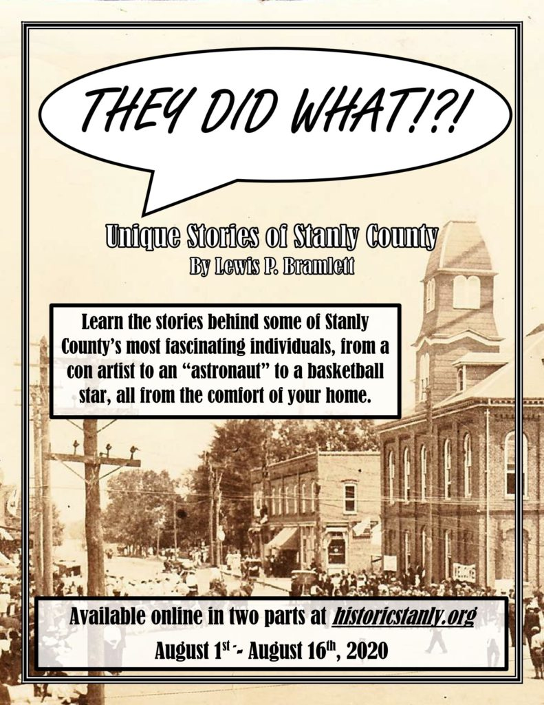 They Did What!?! – A Historical Society Presentation