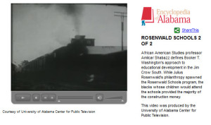 Encyclopedia of Alabama: Rosenwald Video Link 2
