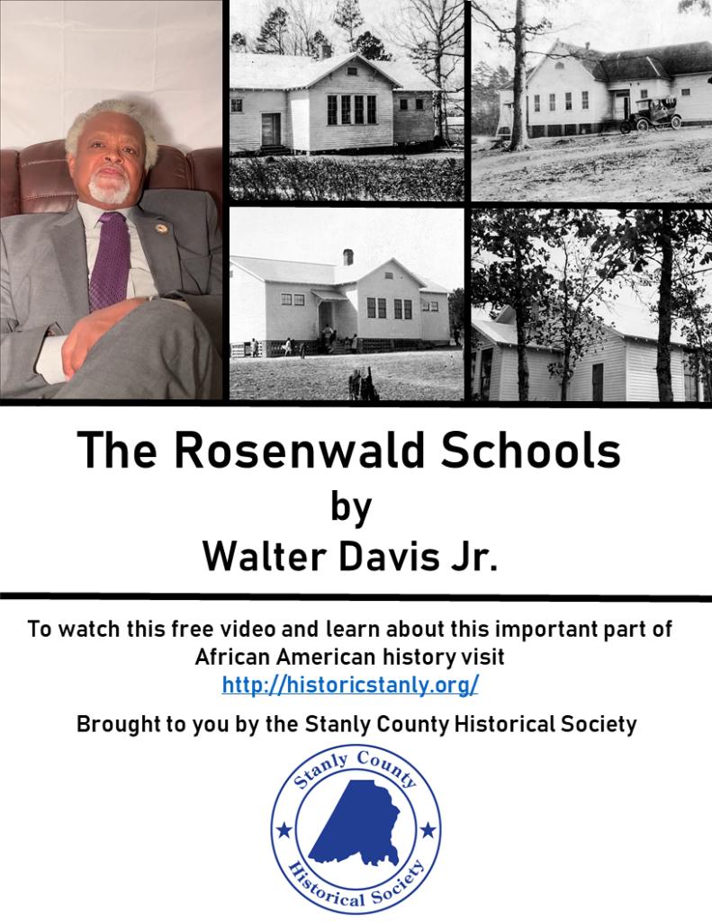 The Rosenwald Schools by Walter Davis Jr.