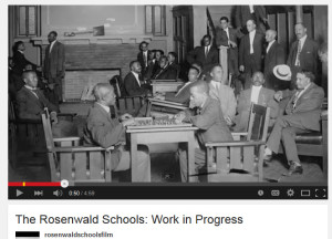 The Rosenwald Schools: Work in Progress
